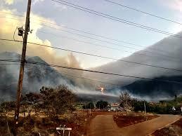 car junkyard honolulu waianae brush fire burns 1 000 acres honolulu hawaii news