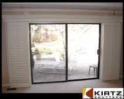 Patio Sliding Door Installation Sliding Sliding Door Shutters Shutters For Doors A Notsostandard