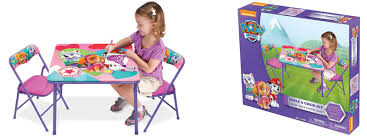 frozen erasable activity table paw patrol skye activity table chairs 14 99 free pickup