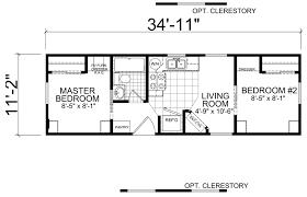 Rv 2 Bedroom Floor Plans Alton 11 X 35 Park Model Rv Floor Plan Factory Expo Park Models