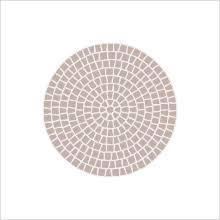 Circular Patio Kit by Circular Patio Kit U0026 Circular Pavers Bergerac Circle Paver Kit