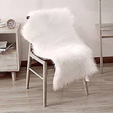 fur chair cover faux sheepskin area rugs faux fur rug white shag