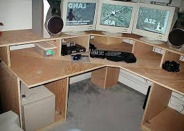 Diy Desk Design Diy Computer Desk Designs Corner Desk Design Plans Multi Level