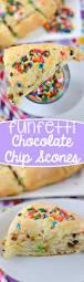 funfetti chocolate chip scones crazy for crust