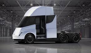 tesla inside tesla electric semi truck interior cabin inside elon musk