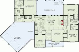 Split Floor Plan 3 Laundry Mudroom With Open Floor Plan House Plans 3 Bedrooms