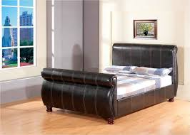 Single Sleigh Bed Leather Sleigh Bed Look Very Classy And Elegant Lgilab Com