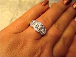 6mm diamond ki 117761 18k 6mm diamond engagement ring still shows a ruby