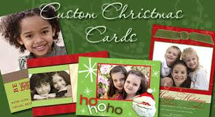 personalized christmas cards customised cards order personalized christmas cards merry