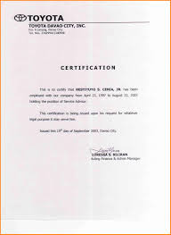 Termination Of Casual Employment Letter doc sample certificate service template certification employment