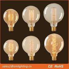 nostalgic tube edison bulb t30 60w decorative filament light bulbs