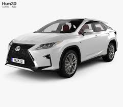 lexus rx interior 2012 lexus rx f sport with hq interior 2016 3d model hum3d