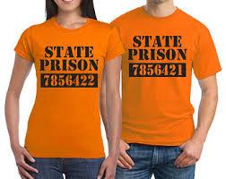 orange inmate tshirt etsy