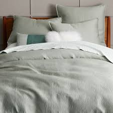 organic brighton matelasse duvet cover shams west elm