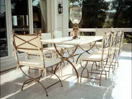 patio table ideas decor outdoor wrought iron patio furniture with cast iron outdoor