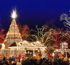 branson drive through christmas lights an old time christmas at silver dollar city branson mo missouri