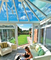 glass roof house ambience conservatory roof glass