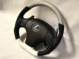 lexus white leather dctms ii gen is steering wheel showcase page 2 clublexus