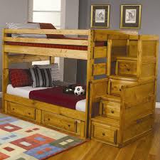 wrangle hill full over full bunk bed with under bed storage lowest