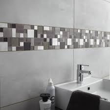 frise leroy merlin faïence mur gris clair denver l 30 x l 60 cm leroy merlin