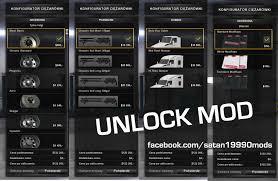 parts kenworth mod is unlocking all parts satan19990 american truck simulator