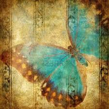 vintage halloween tile background image detail for vintage background with butterfly royalty free