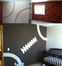 Paint Ideas For Kids Rooms by Best 20 Boy Sports Bedroom Ideas On Pinterest Kids Sports