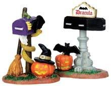 63266 hearse of bones lemax spooky town accessories villages