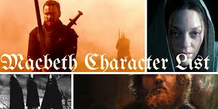 macbeth characters list in depth analysis of all important characters
