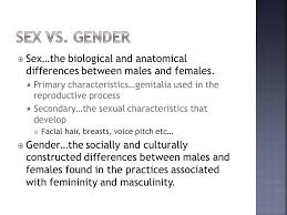 Anatomy Difference Between Male And Female Gender And Age Chapter Ppt Video Online Download