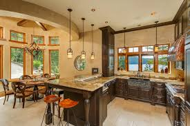 kitchen style home design wall single wall kitchen with island