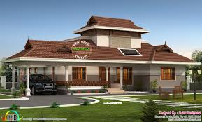 Traditional Home Floor Plans Floor Plan Of 2200 Sq Ft Traditional Home Kerala Home Design