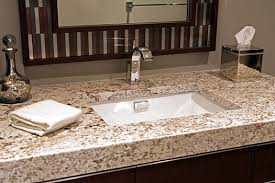 what color goes with brown bathroom cabinets 6 most popular granite colors for bathrooms