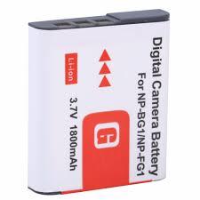 3 1800mah np bg1 np bg1 np fg1 battery for sony cyber shot dsc h3