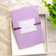 lavender wedding invitations cheap simple lavender pocket wedding invitations ewpi124 as low as