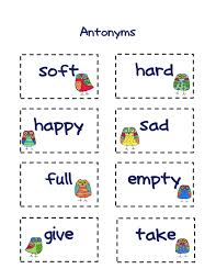 englishlinx com antonyms worksheets synonyms and lesson plan for