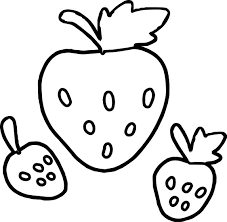strawberry coloring pages for preschool coloringstar