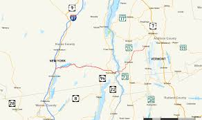 Road Map Of New York State Route 74 New York U2013vermont Wikipedia