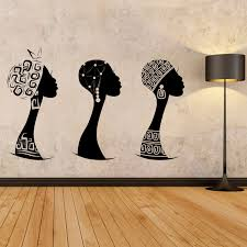 african women wall decal african woman profile wall vinyl zoom