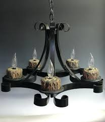 Chandeliers For Outdoors by Lighting Non Electric Chandelier Pillar Candle Chandeliers