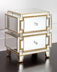 Mirrored Dressers And Nightstands Mirrored Furniture Coffee Tables U0026 Cabinets At Neiman Marcus Horchow