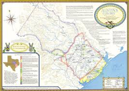 Map Of Austin Tx Teaching Texas History Boundaries On Maps And Of Character