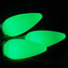 green c9 opaque led bulb