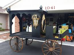 diy ona horsedrawn hearse love it halloween props decor