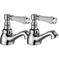 enki kensington traditional bath filler shower basin mixer bath