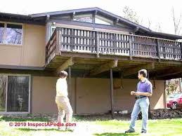 how to prepare concrete deck piers u0026 footings construction