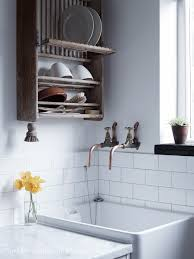 Kitchen Sink Store Brilliant Beautiful Way To And Store Dishes In A Tiny Home
