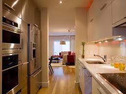 19 parallel kitchen layout sleek kitchen contemporary