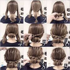cute hairstyles for short hair quick 17 best images about hair on pinterest updo faux hawk updo and