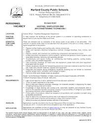 Hvac Resume Template Electrical Draftsman Cover Letter